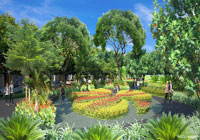 Adarsh Palm Acres BUTTERFLY GARDEN