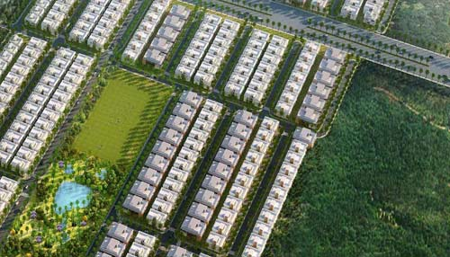 Adarsh Palm Acres masterplan