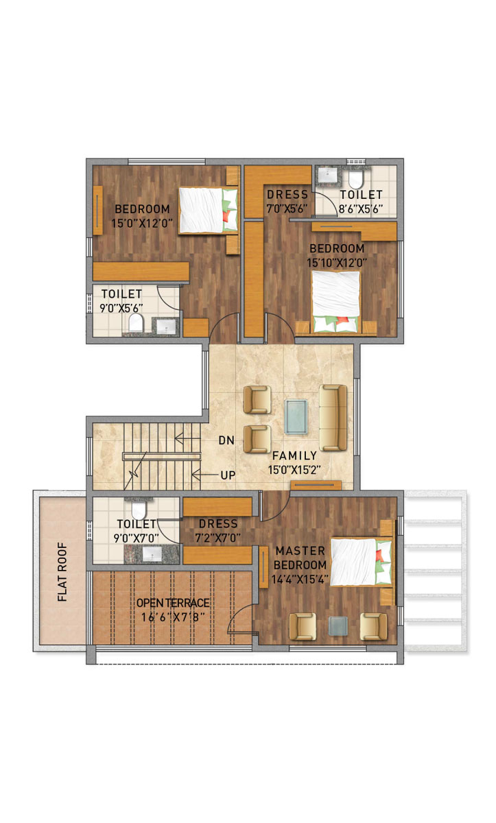 Adarsh Palm Azure Floor plans