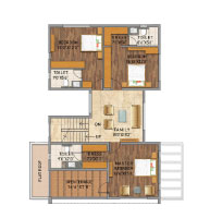 Adarsh Palm Azure villa floor plans
