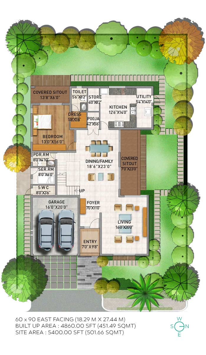 Palm Zaffre Villa | Adarsh Palm Acres